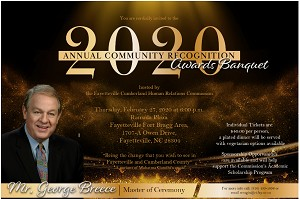Attend The 2020 Community Recognition Awards Banquet (Admission)