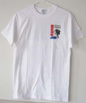 Warrior Jam 2012 T-shirt